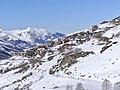 Les Menuires vues du bas de Val Thorens en hiver (2019).JPG