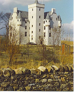 Clan Leslie - Leslie Castle in 1989