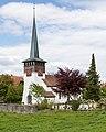 Leuzigen BE - Kirche aus dem 11.-12. Jahrhundert.jpg