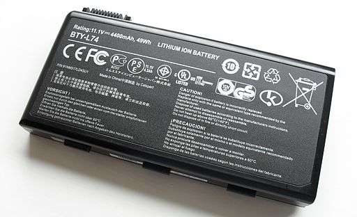 Li ion laptop battery