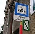Liberec, Pivovar, označení zastávky.jpg
