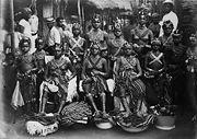 Yerli kadınlar, 1910.