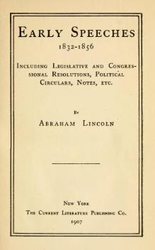 Life and Works of Abraham Lincoln, v3.djvu