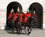 Life guards - Whitehall (London)
