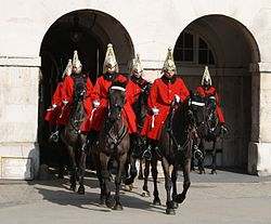 Life guards - Whitehall (London).JPG