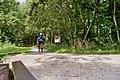 Ligfietsen over de voormalige tramlijn Marum - Drachten bij de Jilt Dijksheide (37232018234).jpg