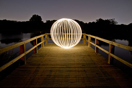Light Painting 1 - Booyeembara Park