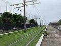 Ligne 3b Tramway près Pont Canal Ourcq Paris 1.jpg