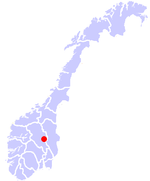 Lillehammer location.png
