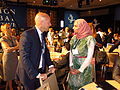 Limberger with Hayat Sindi CGI 2014 Clinton Global Initiative.JPG