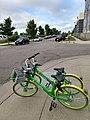 LimeBike bikes in Saint Paul, Minnesota 03.jpg