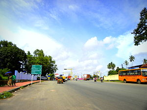 Asramam Maidan - Link Road at Asramam