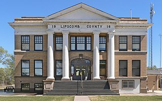 Lipscomb County Courthouse United States historic place