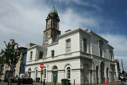 Lisburn Market House – now forming part of the Irish Linen Centre/Lisburn Museum
