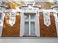 Listed Art Nouveau house, detail. - 24 Csongrádi Street, Rákócziváros, 2016 Hungary.jpg