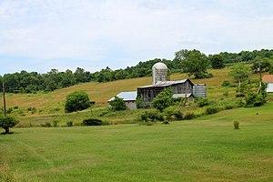 Clinton Township, Wyoming County, Pennsylvania - Scenery of Lithia Valley in Clinton Township