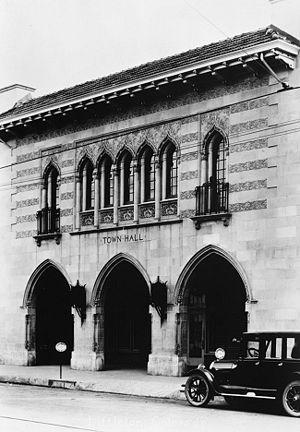Jacques Benedict - Littleton Town Hall, built 1920