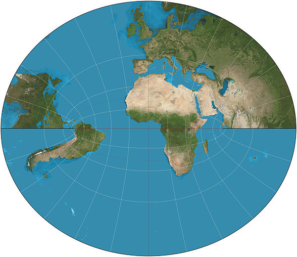 Littrow projection of partial hemisphere Littrow projection SW.JPG