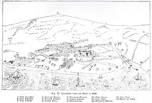 Architecture of Liverpool - Liverpool in 1650