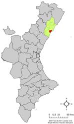 Cartina Spagna Benicassim.Benicasim Wikipedia