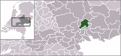 Location of Rheden
