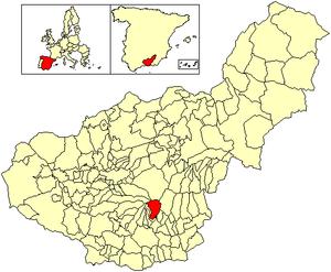 Capileira - Image: Location Capileira