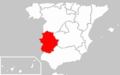 Locator map of Extremadura.png