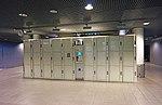 Lockers in Helsinki-Vantaa Airport.jpg