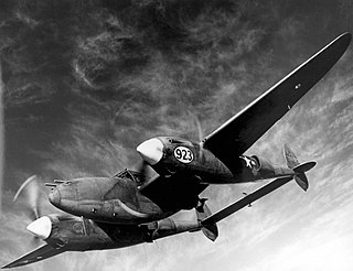 Lockheed P-38 Lightning airplane