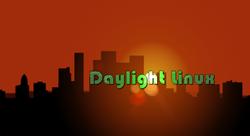 Logo officiel de Daylight Linux.png