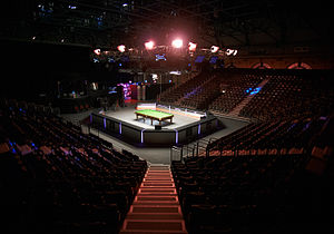 Masters (snooker) - Arena in the Alexandra Palace during 2012