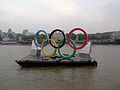 London Olympic Rings on the River Thames.jpg