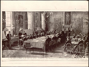 Treaty of London (1913) - Signing of the Peace Treaty on 30 May 1913