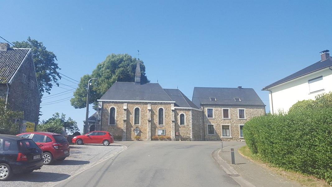 Kapelle St. Anna, Busch, Lontzen, Belgien