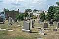 Looking E across section T at Evarts Street NE - Glenwood Cemetery - 2014-09-19.jpg