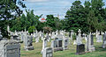 Looking N across section D - Glenwood Cemetery - 2014-09-14.jpg