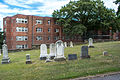 Looking SE across section P - Glenwood Cemetery - 2014-09-14.jpg