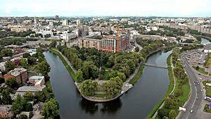 Kharkiv River - Image: Lopan Strelka Kharkov