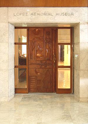 Lopez Museum - Image: Lopezmuseumentrance