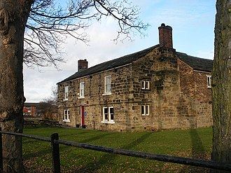 Lord of the manor - Manor house in Crofton, Yorks.