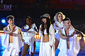 Loreen and her dancers at Art on Ice 2014-6.jpg