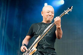Masayoshi Yamashita - Yamashita performing with Loudness at Wacken Open Air in 2016