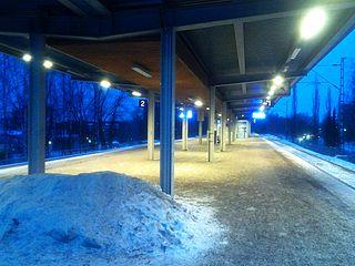 Louhela railway station