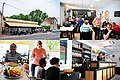 Lovely Restaurant L'Eperon Lamottois at Noon when we had a good dinner for 13 Euro's at 6 June 2015 - panoramio.jpg