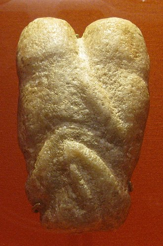 Natufian culture - Image: Lovers 9000BC british museum