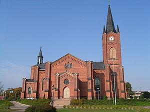 Loviisa - Image: Loviisa Kirche v S