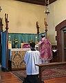Low Mass at the Lady Altar St Bartholomew's, Regent Park 2019.jpg