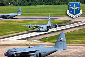 Little Rock Air Force Base - C-130s of the 19th Airlift Wing