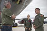 Lt. Gov. of Indiana visits Grissom 02.jpg
