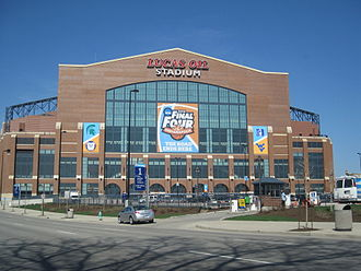 2010 NCAA Division I Men's Basketball Tournament - Lucas Oil Stadium during Final Four weekend